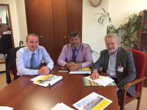 Andrew Doyle and Derek Mitchell press Dublin Bus for better services to Greystones